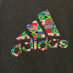 Adidas world flag T-shirt